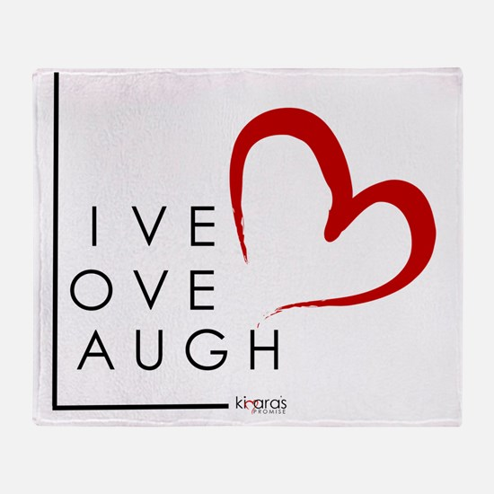Live.Love.Laugh by KP Throw Blanket