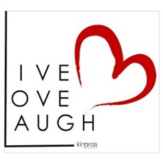 Live.Love.Laugh by KP Poster