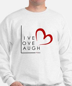 Live.Love.Laugh by KP Sweater