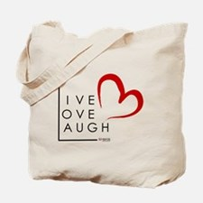 Live.Love.Laugh by KP Tote Bag