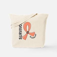 Endometrial Cancer Survivor 12 Tote Bag