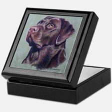 Hot Choc Lab Keepsake Box