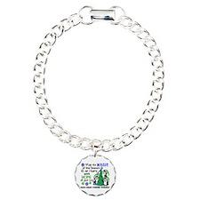 Holiday Penguins EDS Bracelet