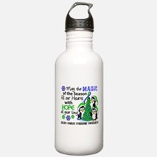 Holiday Penguins EDS Water Bottle