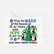 Holiday Penguins EDS Greeting Card