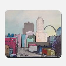 St. Louis Cityscape Mousepad