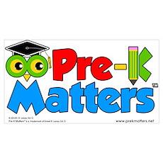 Pre-K Matters Poster