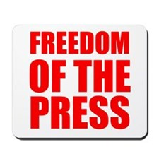 Freedom of the Press Mousepad