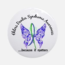EDS Butterfly 6.1 Ornament (Round)