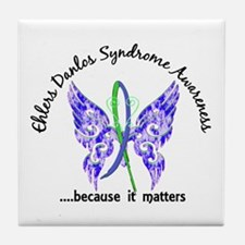 EDS Butterfly 6.1 Tile Coaster