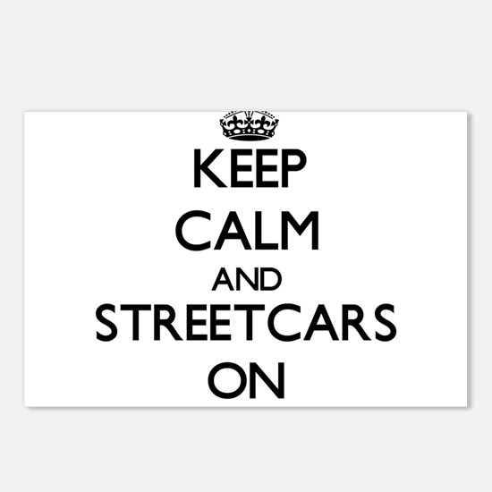 Keep Calm and Streetcars Postcards (Package of 8)