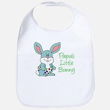 Papa Little Bunny Bib