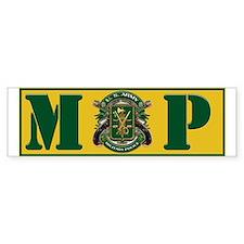 Military Police Bumper Bumper Sticker Bumper Bumper Sticker