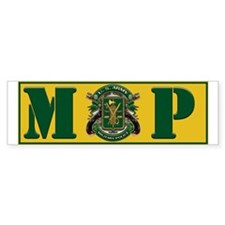 Military Police Bumper Car Sticker Bumper Car Sticker