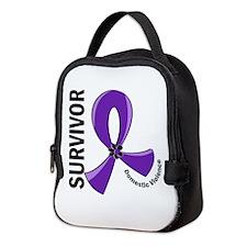 Domestic Violence Survivor 12 Neoprene Lunch Bag