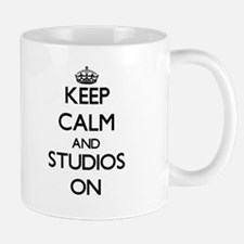 Keep Calm and Studios ON Mugs