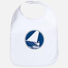 Sailing Yachting Circle Icon Bib