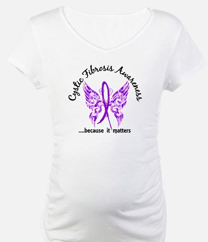 Cystic Fibrosis Butterfly 6.1 Shirt