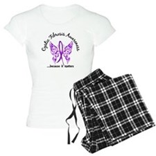 Cystic Fibrosis Butterfly 6 Pajamas