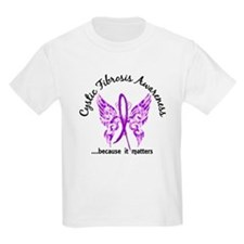 Cystic Fibrosis Butterfly 6.1 T-Shirt