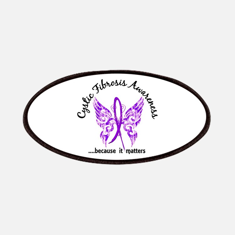 Cystic Fibrosis Butterfly 6.1 Patch