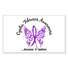 Cystic Fibrosis Butterfly 6.1 Decal