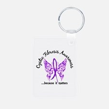 Cystic Fibrosis Butterfly Keychains