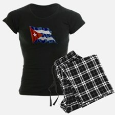 Cuba Flag (Distressed) Pajamas