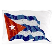 Cuba Flag (Distressed) Pillow Case