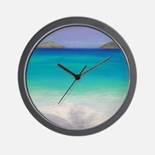 """Distant Memories, Elusive Presence"" Wall Clock"