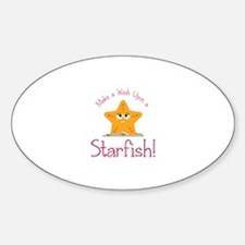 Wish Upon Starfish Decal