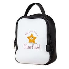 Wish Upon Starfish Neoprene Lunch Bag