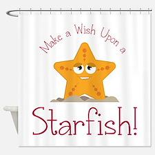Wish Upon Starfish Shower Curtain