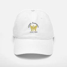 COPD Butterfly 6.1 (Gold) Baseball Baseball Cap