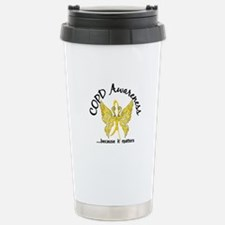 COPD Butterfly 6.1 (Gol Travel Mug