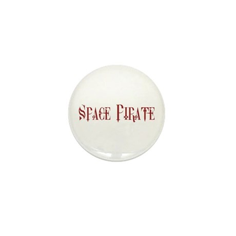 Space Pirate Mini Button