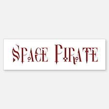 Space Pirate Bumper Bumper Bumper Sticker