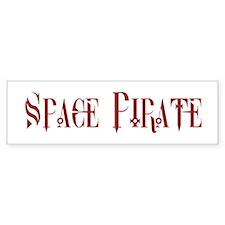 Space Pirate Bumper Bumper Sticker
