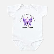 Congenital Heart Disease Butterfly Infant Bodysuit
