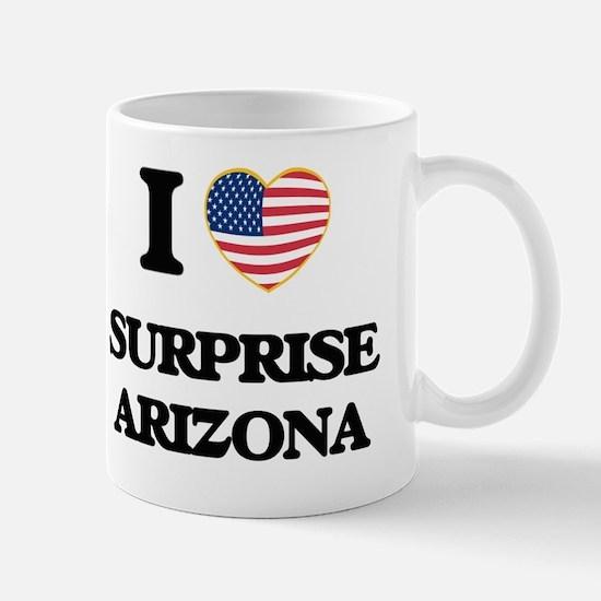 I love Surprise Arizona USA Design Mug