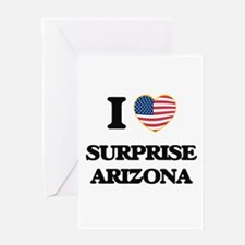 I love Surprise Arizona USA Design Greeting Cards