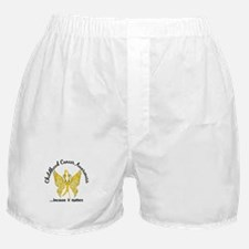 Childhood Cancer Butterfly 6.1 Boxer Shorts