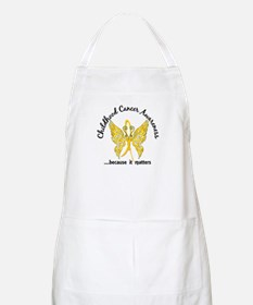 Childhood Cancer Butterfly 6.1 Apron