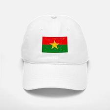 Burkina Faso Flag (Distressed) Baseball Baseball Baseball Cap