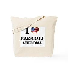 I love Prescott Arizona USA Design Tote Bag
