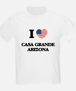 I love Casa Grande Arizona USA Design T-Shirt