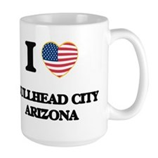 I love Bullhead City Arizona USA Design Mugs