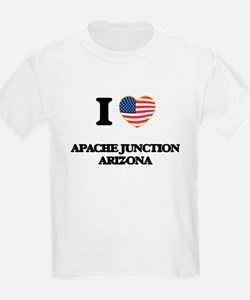 I love Apache Junction Arizona USA Design T-Shirt