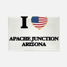 I love Apache Junction Arizona USA Design Magnets