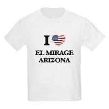 I love El Mirage Arizona USA Design T-Shirt